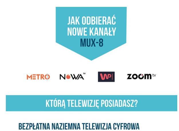 Nowe programy radiowe w HbbTV dla widzów multipleksu ósmego (MUX-8)