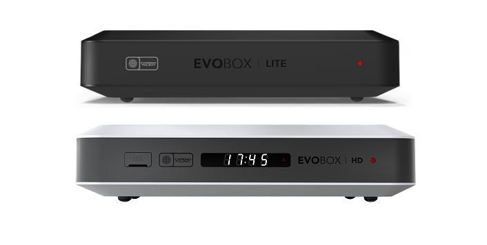 Nowe dekodery EVOBOX HD i EVOBOX LITE w ofercie Cyfrowego Polsatu