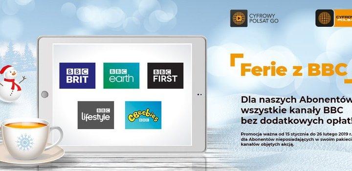 Cyfrowy Polsat – na ferie otwarte okno na kanały BBC