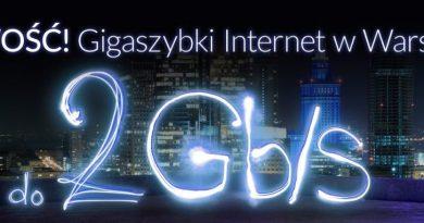 Internet 2 Gb/s od Vectry dla Warszawy