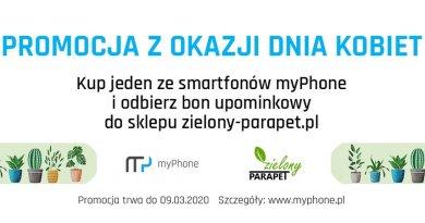 Dzień Kobiet z myPhone: kup smartfon i odbierz bon na kwiaty gratis