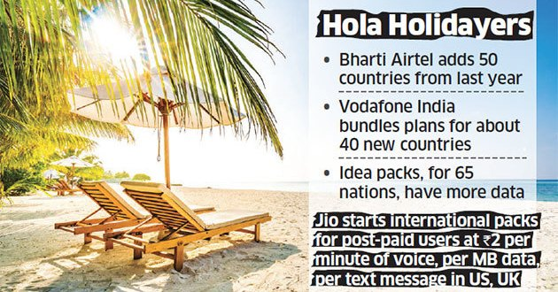 Amid tariff crash, summer break to bring fall in global roaming rates – Economic Times