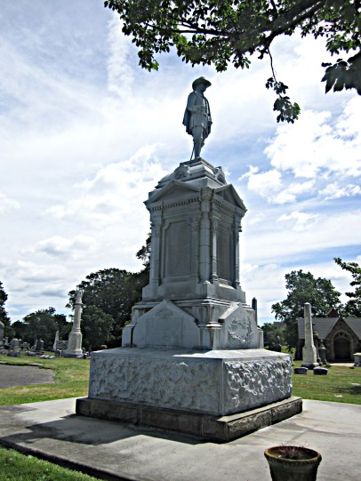Newark NJ founders statue (Robert Treat)
