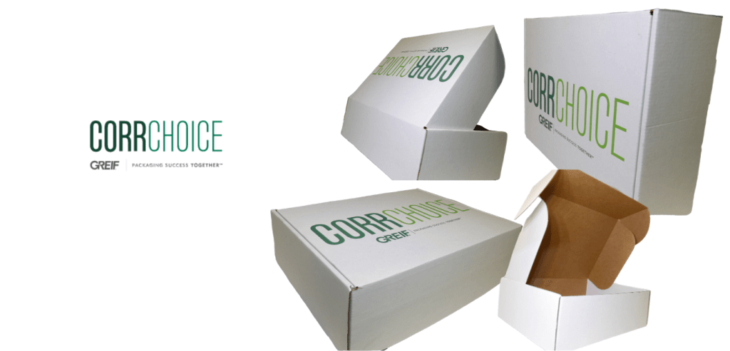 Custom box designed for CorrChoice