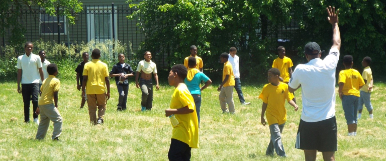 Kids Engaged in Physical Activity