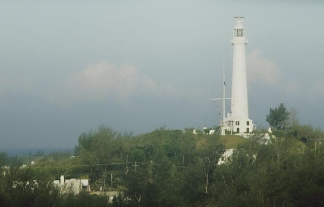 Gibbs Hill Lighthouse, Bermuda   117' (36m)  Built 1844