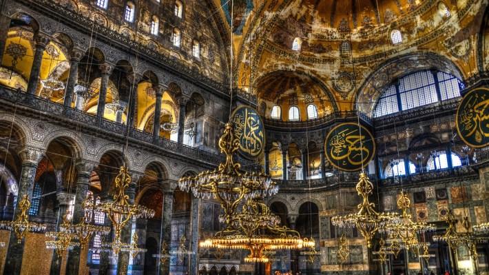 Wonderful-Hagia-Sophia-Interior-Architecture