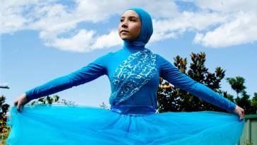 muslim ballet dancer