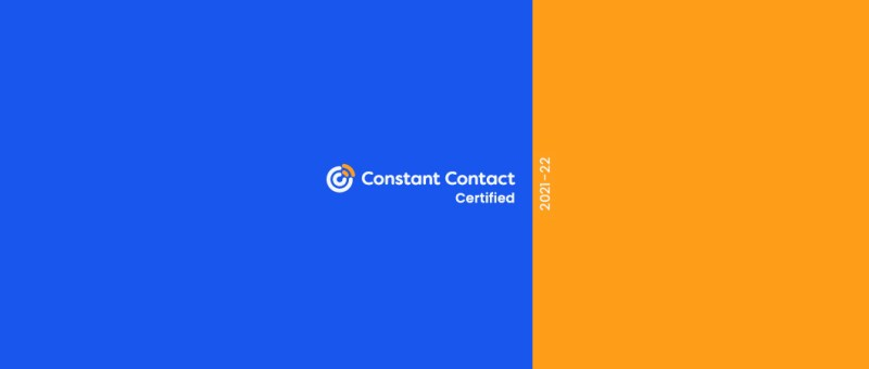 Constant Contact Certification Badge for 2021-2022