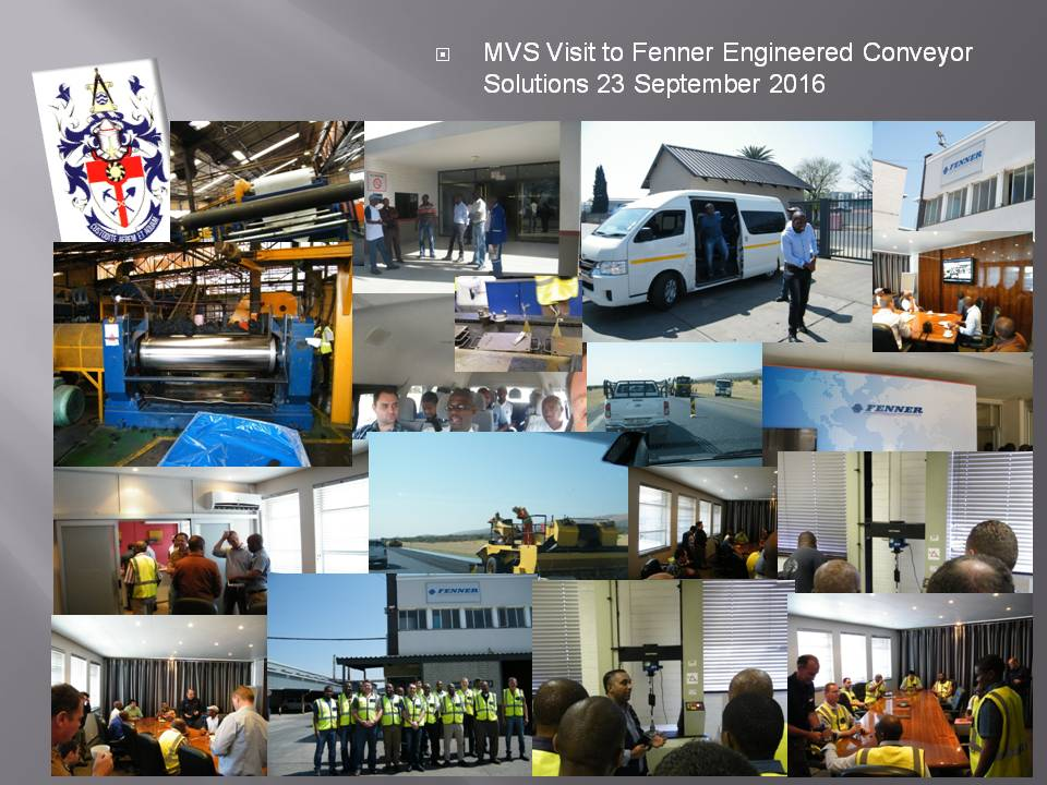MVS Visit to Fenner Engineered Conveyor Solutions