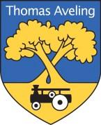 ThomasAvelingLogoBlack New Blue & Yellow