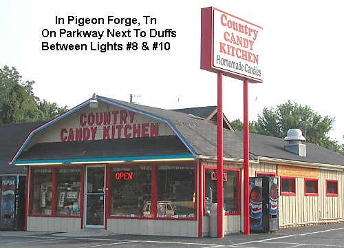 Country Candy Kitchen - Pigeon Forge