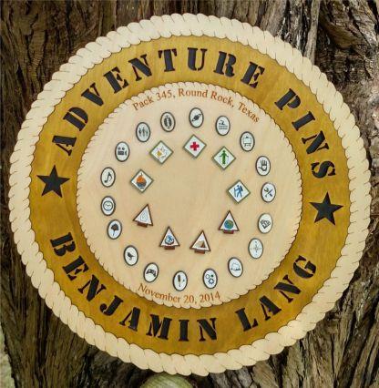 Adventure Pin Plaque