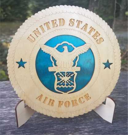 Small Air Force old logo Tribute