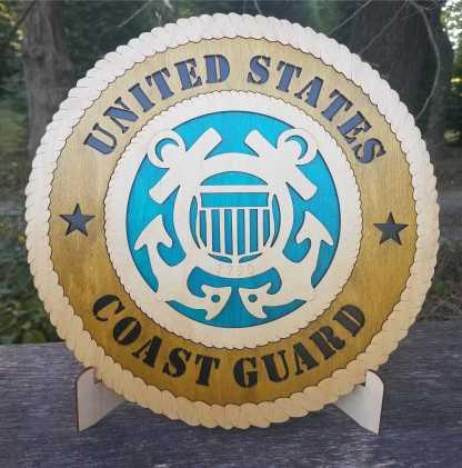 Large Coast Guard Tribute