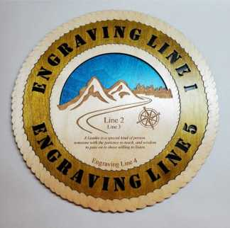 Mountain Leader Plaque