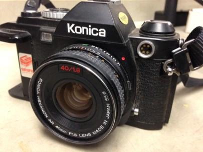 Konica FS-1 Camera, MVZ, July 9, 2014, by John Hickman.