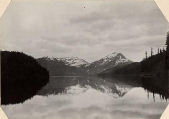 Hasselborg Lake, Admiralty Inlet, Alaska by Annie Alexander 1907 silver gelatin print
