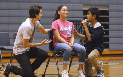 MWAH mixes music, advice on youths' toughest issues
