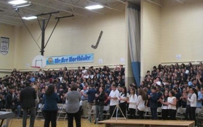 Youth performance troupe brings its message to Northlake Middle School