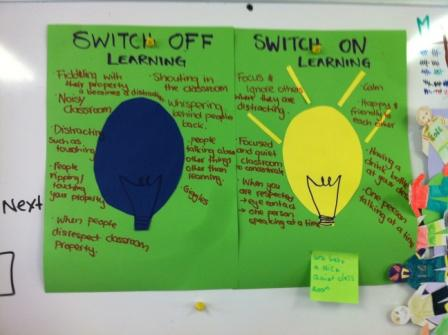 web switch on learning