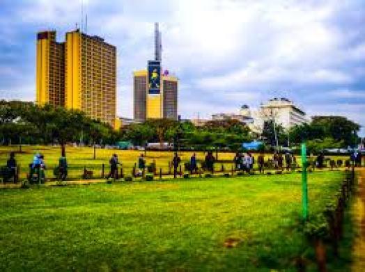 Uhuru Park Johny Walker
