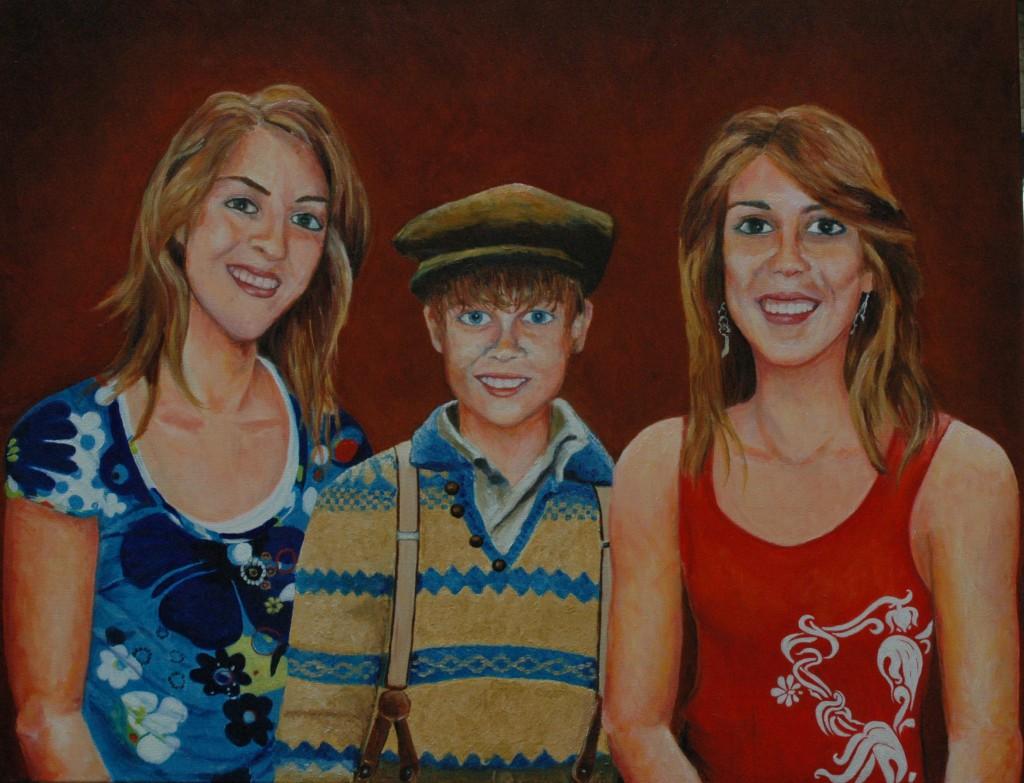 Jill, Kaj en Joy