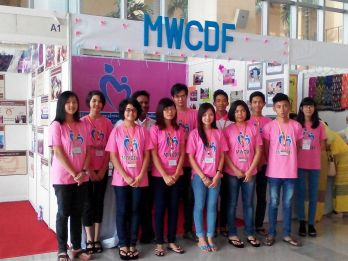 Documentary Photographing of Youth at MWCDF Booth at 8th APCRSHR ,MICC2