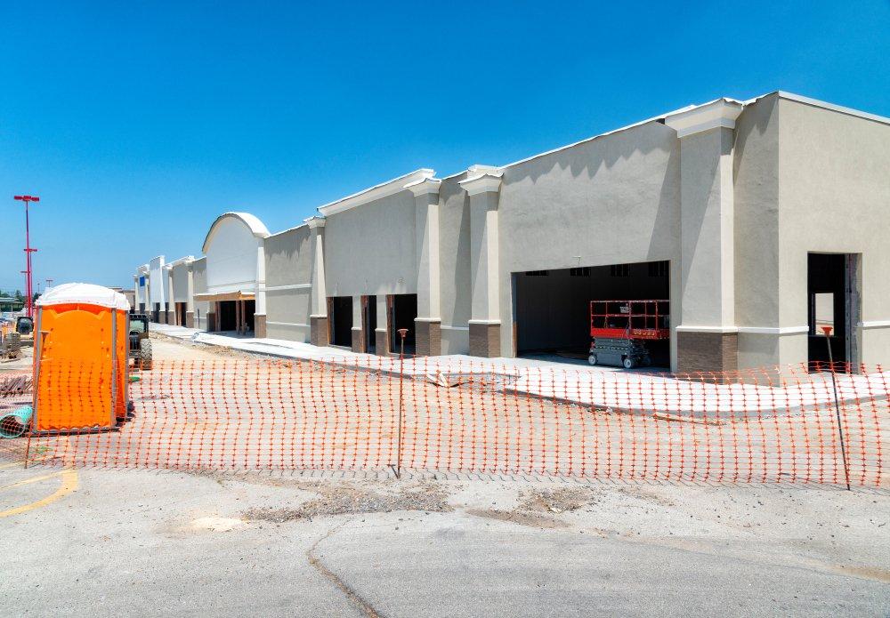 Retail Center Under Construction