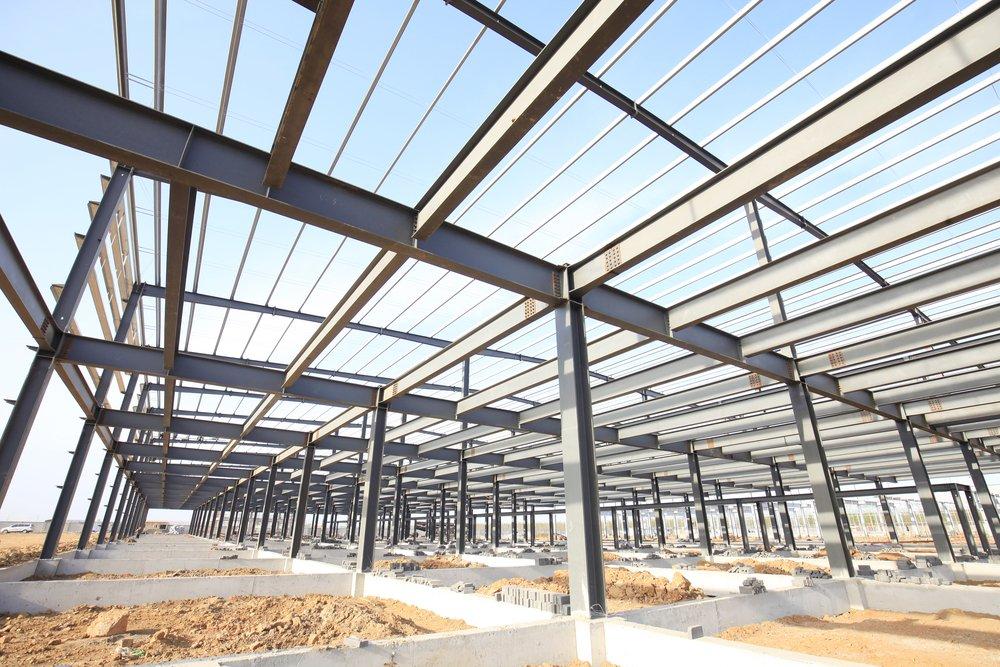 Industrial Warehouse Framing