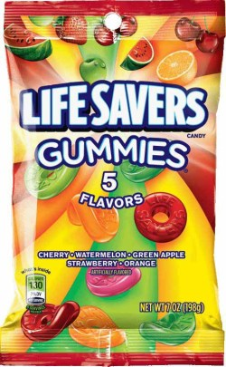 LIFE SAVERS GUMMIES 5 FLAVOR 7 OZ