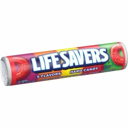 LIFESAVERS FIVE FLAVOR CANDY ROLL 1.14 OZ
