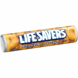 LIFESAVERS BUTTER RUM CANDY ROLL 1.14 OZ