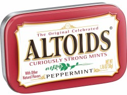 ALTOIDS PEPPERMINT TIN 1.76 OZ