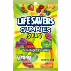 LIFESAVERS GUMMI SOURS 7 OZ BAG
