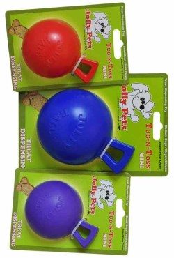 "4.5"" TUG-N-TOSS (BLUE, RED, PURPLE, PINK)"