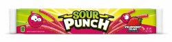 SOUR PUNCH STRAWS STRAWBERRY 2 OZ