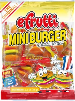 GUMMY MINI BURGER CLASSIC BAG