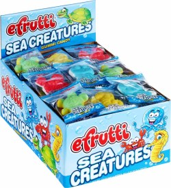 GUMMY SEA CRITTER INDIVIDUALLY WRAPPED