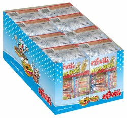 GUMMY HOT DOG INDIVIDUALLY WRAPPED DISPLAY