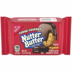 NUTTER BUTTER FUDGE COVERED 2.63 OZ
