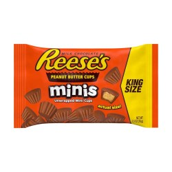 REESE'S PEANUT BUTTER CUP MINIS SHARE SIZE 2.5 OZ