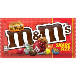 M&M'S PEANUT BUTTER SHARE SIZE 2.83 OZ