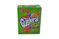 FRUIT GUSHERS SUPER SOUR BERRY 4.25 OZ