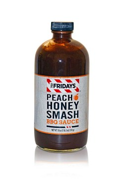 TGI FRIDAYS PEACH HONEY SMASH BBQ SAUCE 18 OZ 6 PER BOX