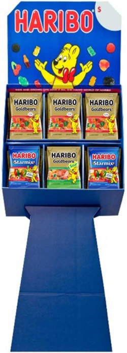 HARIBO MIXED SHIPPER 5 OZ