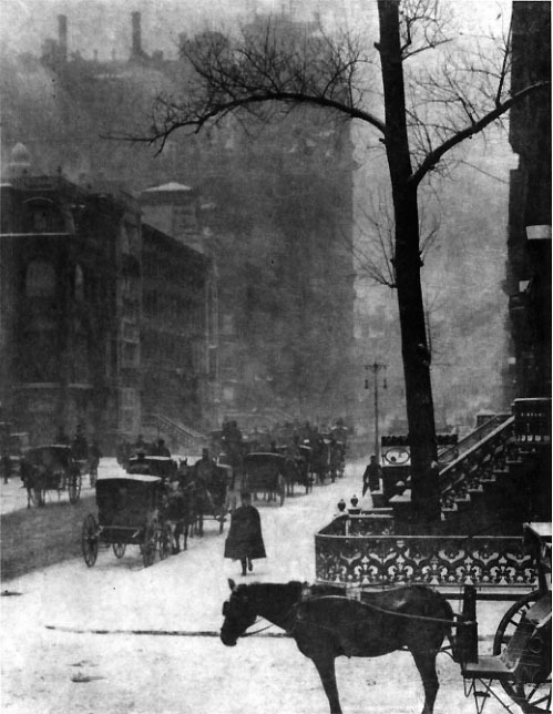 The Street, by Alfred Stieglitz (1903)
