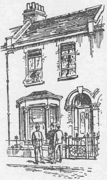 35 Cave Road. From Lloyd's Weekly Newspaper 21st July 1895. Copyright, The British Library Board.
