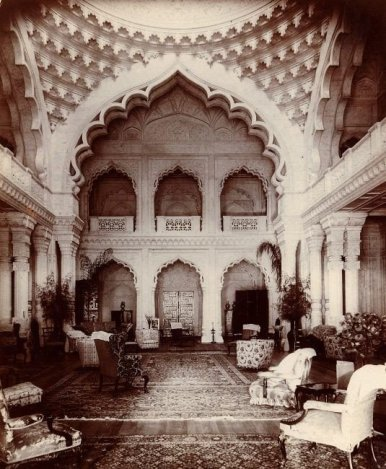 Elveden Hall was built by the maharajah at great expense to the crown of England.