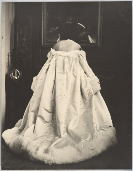The Comtesse de Castiglione was an early experimenter with photography.